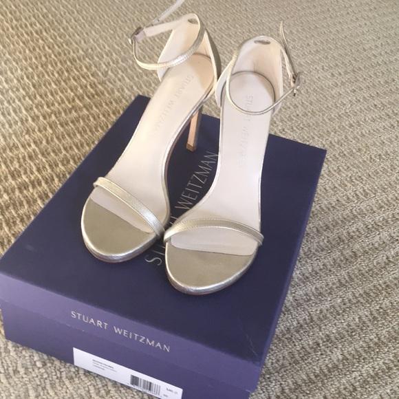 """e2f7c6191e17 Stuart Weitzman """"Nudistsong"""" Heels. 100mm. M 5b4cae5f5098a0854570ca64.  Other Shoes ..."""